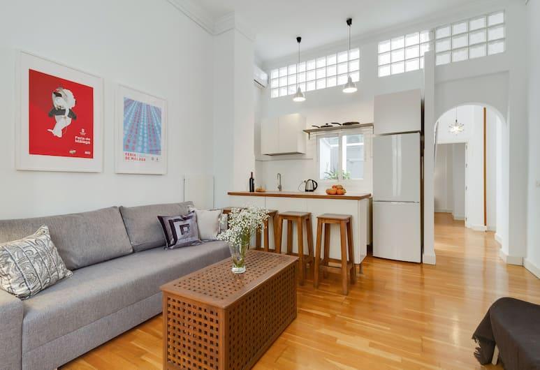 Del Parque Flats Letran, Málaga, Apartment, 1 Bedroom, Living Area
