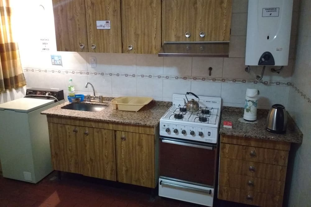 Standard Room, 2 Twin Beds, Non Smoking, Mountain View - Shared kitchen