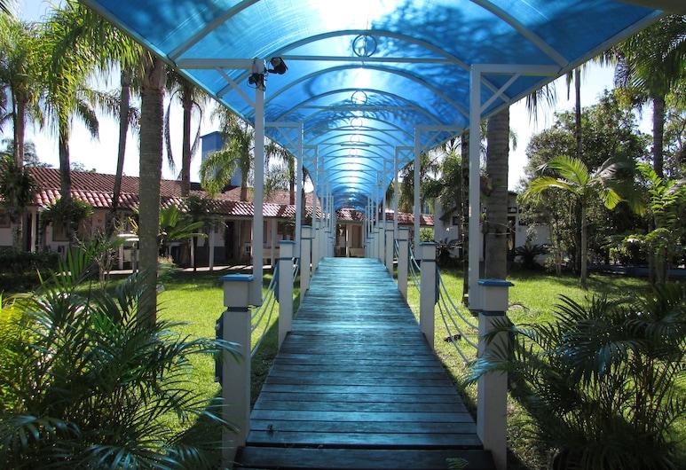 Hotel Costa Azul, Cananeia, Hótelinngangur