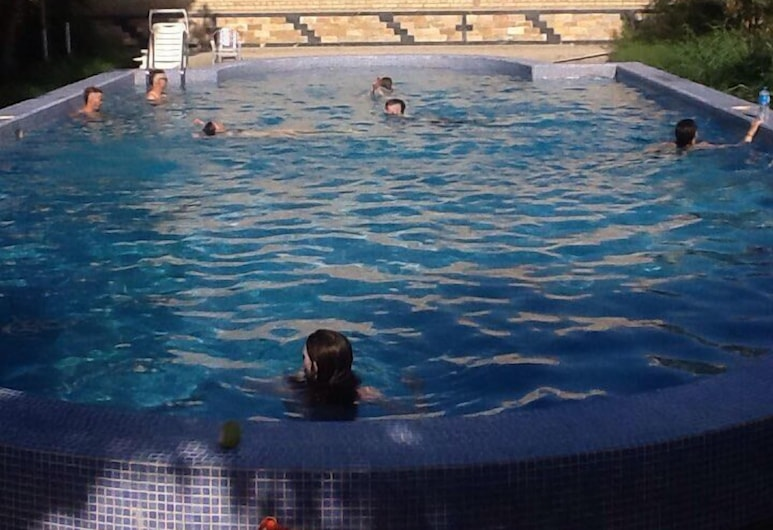 May Weather, Bukhara, Outdoor Pool