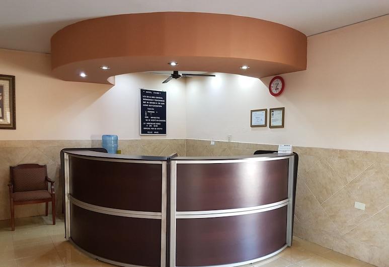 Hotel Romo, Los Mochis, Recepción