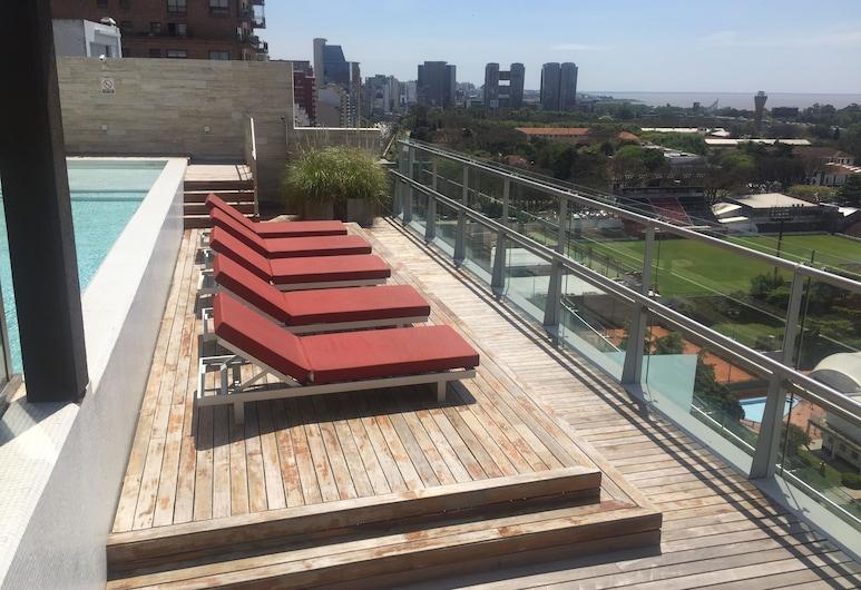 Apart Suite, Buenos Aires, Pool auf dem Dach