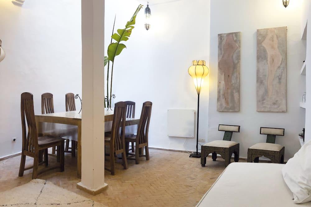 Designový apartmán - Obývací prostor