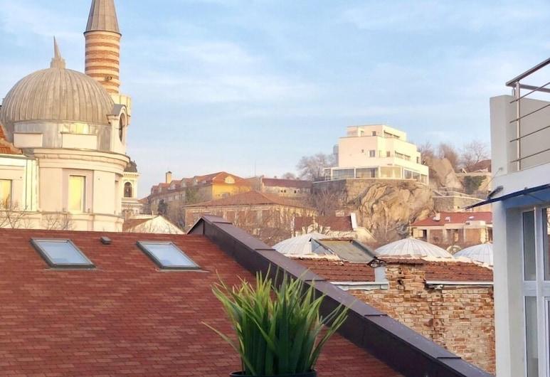 Skyler, Plovdiv, Vista a partir do Hotel