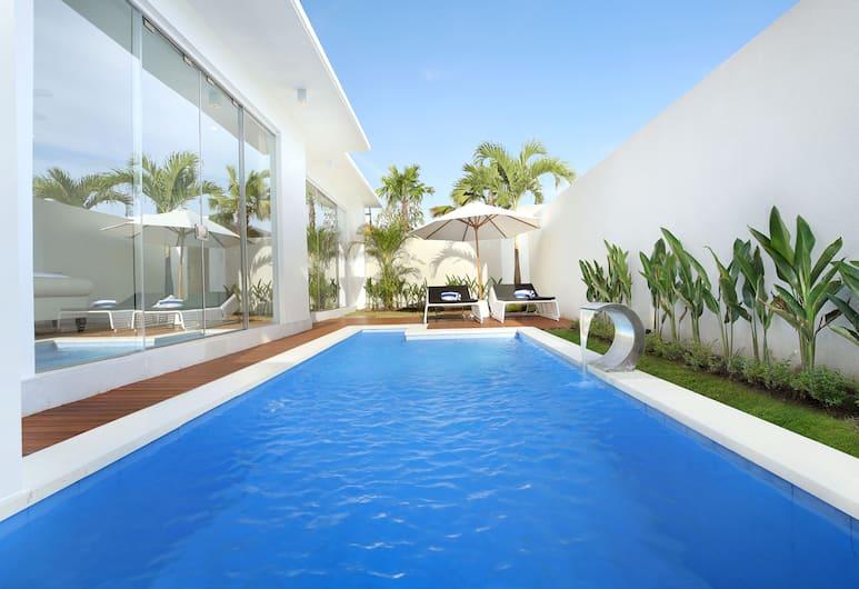 The Grand Daha A Luxury Resort and Spa, Seminyak, 1 Bedroom with Private Pool Villa, Vista do quarto