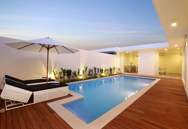 The Grand Daha A Luxury Resort and Spa, Seminyak, Vila superluxo, 2 quartos, VIsta para a piscina, Piscina particular