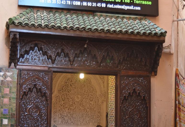 Riad Selma, Meknes, Hotel Front