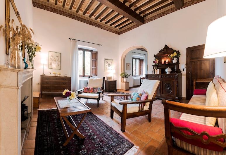 Villa Santa Giulia, Piombino, Departamento familiar (Palme), Sala de estar