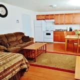 Bungalow Deluxe, 2 sypialnie, kuchnia, widok na góry - Powierzchnia mieszkalna