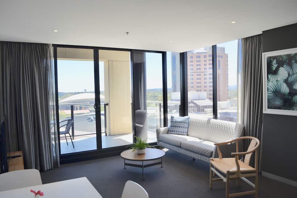 Executive Apartment, 1 Katil Ratu (Queen), Non Smoking, City View - Bilik Rehat