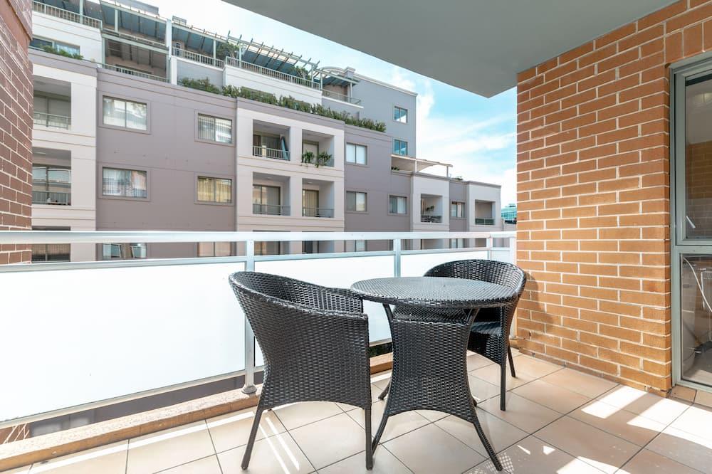 City-Apartment - Balkon