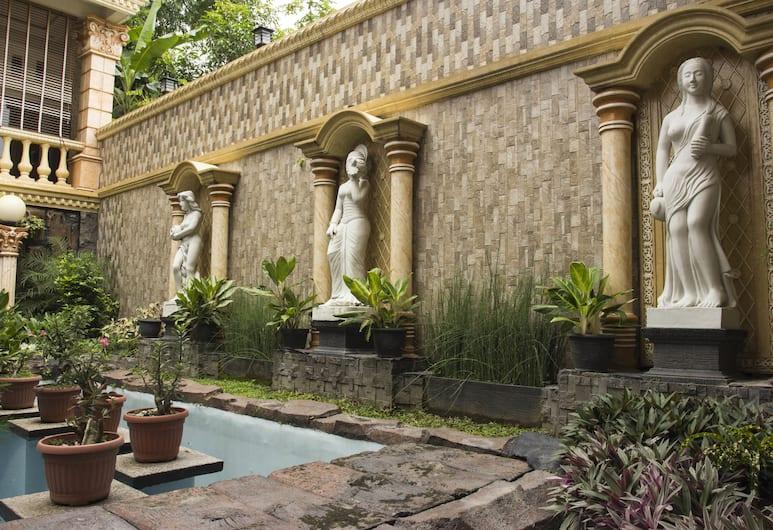 OYO 417 Bama Guesthouse, Yogyakarta, Terrasse/Patio