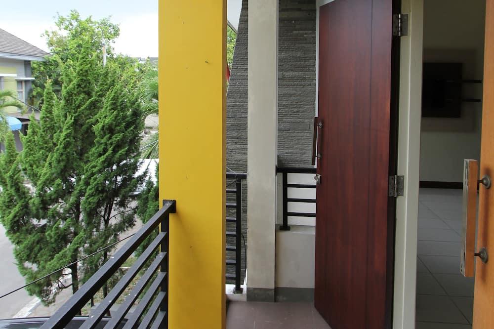 Casa básica, 4 habitaciones - Balcón