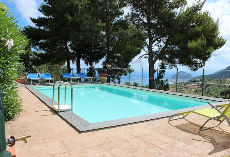 Villa Eleanto, Cefalù, Sundlaug