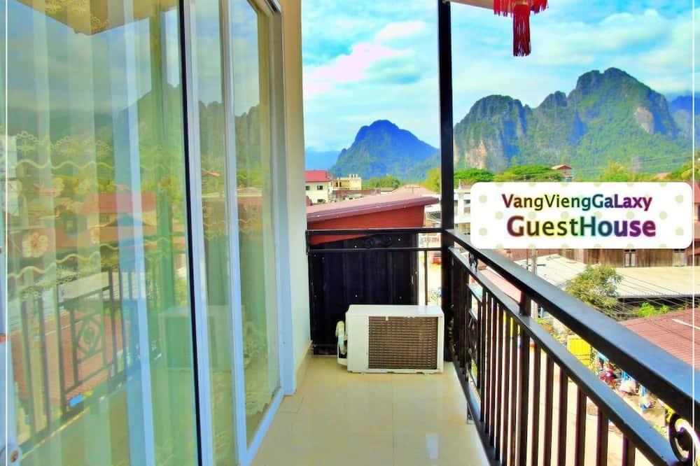 Panorama tweepersoonskamer - Balkon