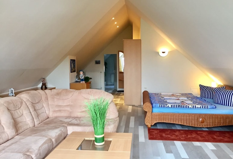 Pension Cora, Boltenhagen, Suite, Living Area