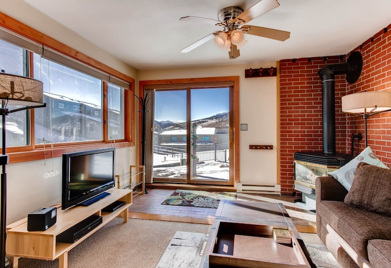 21 Crested Mountain Lane, #504 - 1 Br Condo, Crested Butte, Leilighet, 2 soverom, Stue