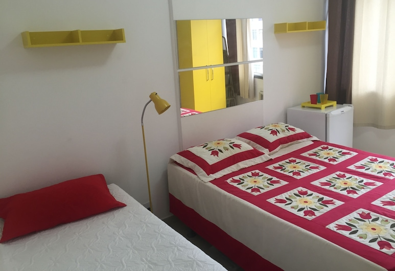 Rio Habitat - Nsa Sra Apartaments, Rio de Janeiro, Apartmán typu Classic, viacero postelí, nefajčiarska izba, Izba