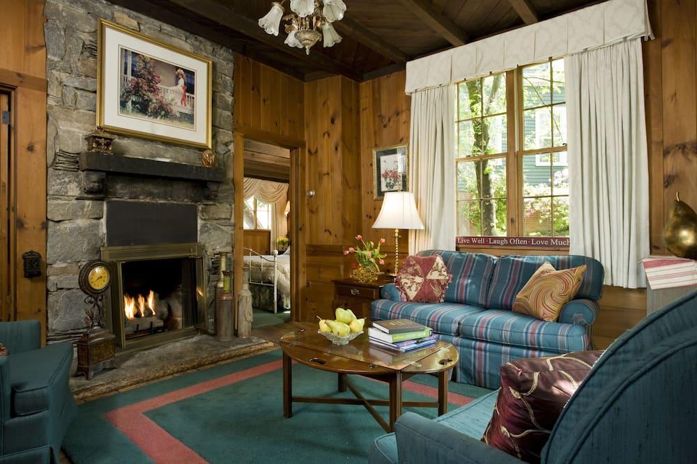 Casa de campo de luna de miel - Sala de estar