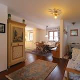 อพาร์ทเมนท์, 1 ห้องนอน, ระเบียง, วิวภูเขา (Chalet Rose) - บริการอาหารในห้องพัก