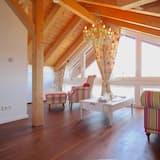 อพาร์ทเมนท์, 1 ห้องนอน, วิวภูเขา (Himmelschlösschen) - ห้องนั่งเล่น