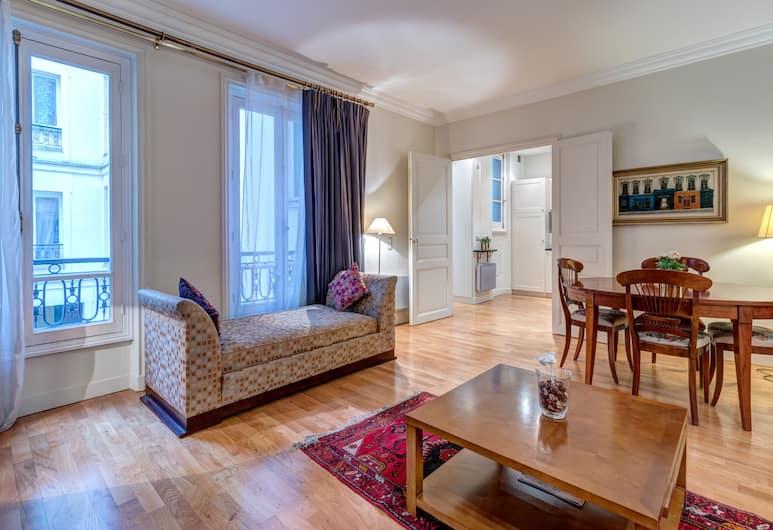 Pelicanstay at Arc de Triomphe, Paris, Lägenhet City - 1 kingsize-säng med bäddsoffa - balkong, Utsikt mot gatan