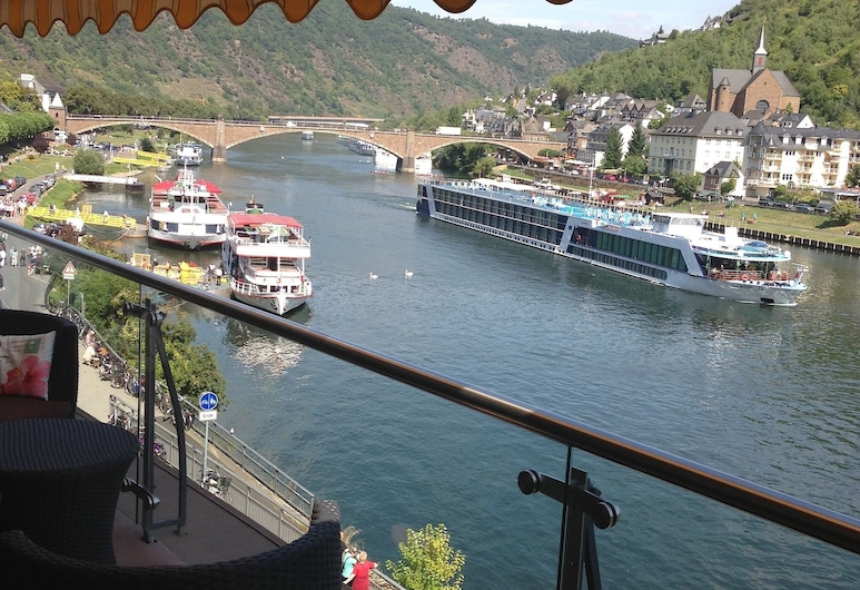 MOSELAPART, Cochem, Penthouse Apartment 1, Balcony (incl. Cleaning Fee), Balcony View