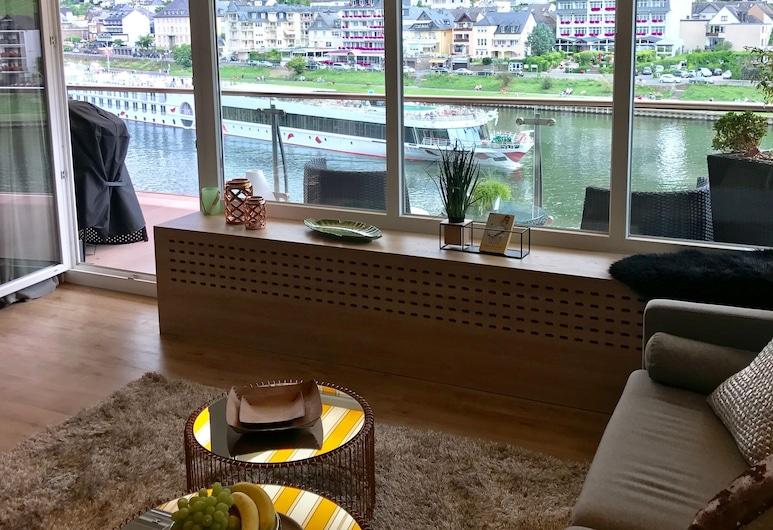 MOSELAPART, Cochem, Penthouse Apartment 2, Balcony, Room