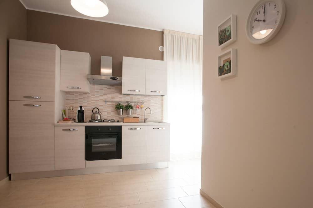 Habitación doble, baño compartido (Rosa) - Cocina compartida