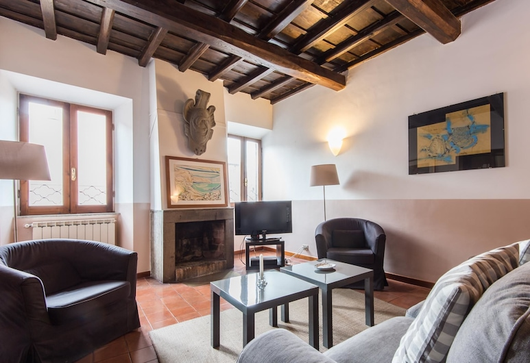 RSH 朱利亞迷人風格公寓 2 號酒店, Rome, 公寓, 2 間臥室, 客廳