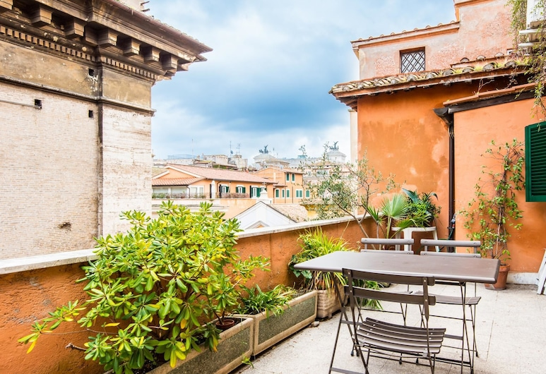 RSH Pantheon Panoramic Terrace 2, Rome, Appartement, 2 chambres, Terrasse/Patio