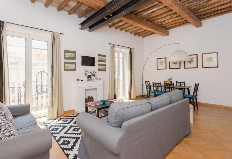 RSH Trevi Fountain Luxury Apartment, Rome, Apart Daire, 2 Yatak Odası, Oturma Alanı