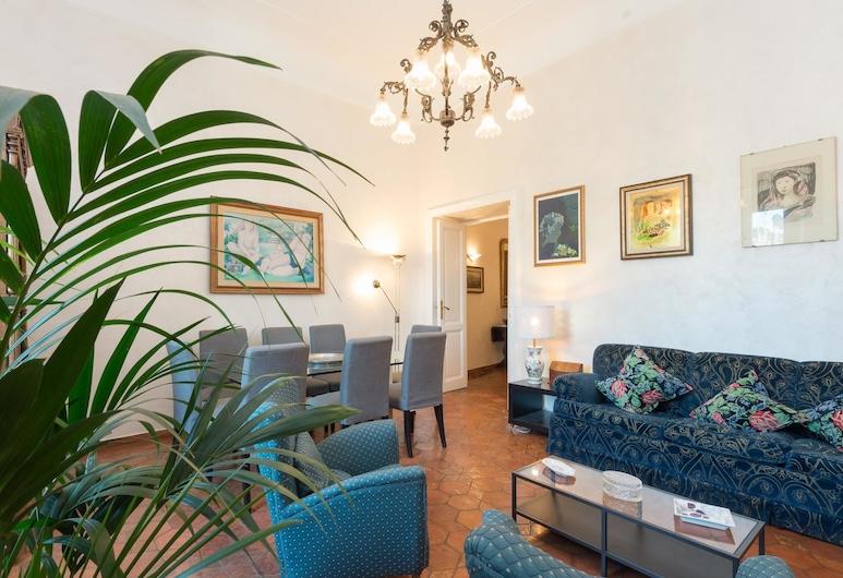 RSH 托拉斯特大舒適全景公寓酒店, Rome, 公寓, 3 間臥室, 客廳