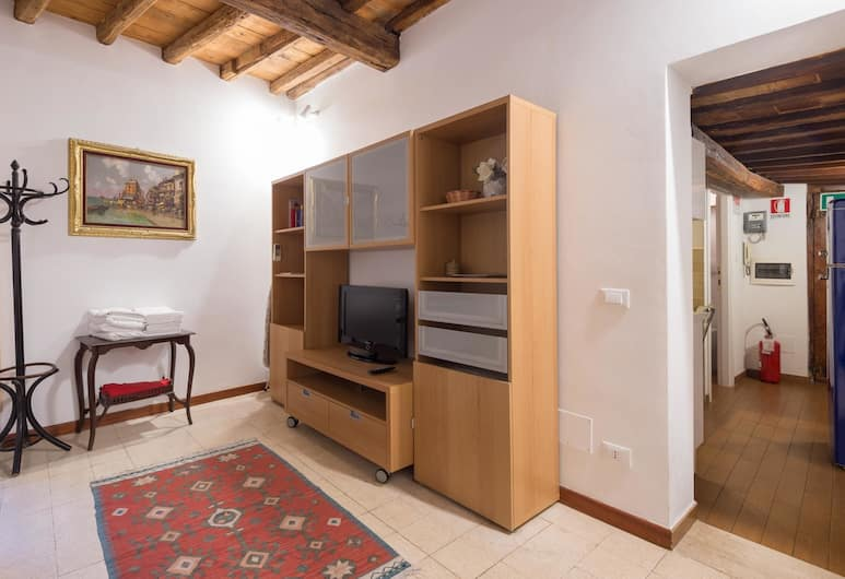 RSH Spagnoli Quiet Apartment, Rome, Appartement (1 Bedroom), Woonruimte