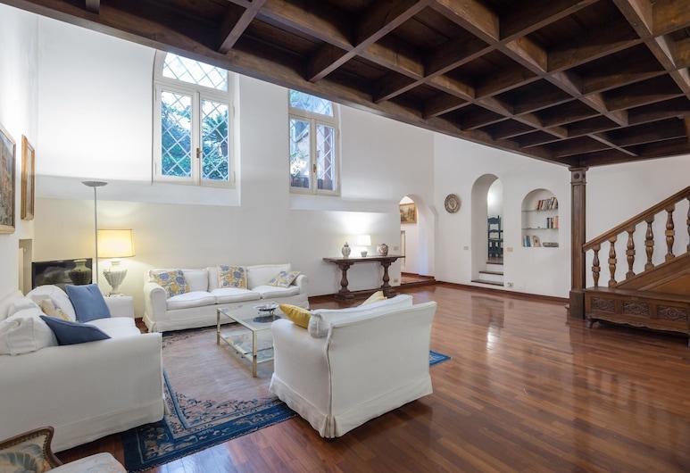 RSH Margutta Exclusive Apartment, Rome, Appartement, 2 chambres, 2 salles de bains, Salle de séjour