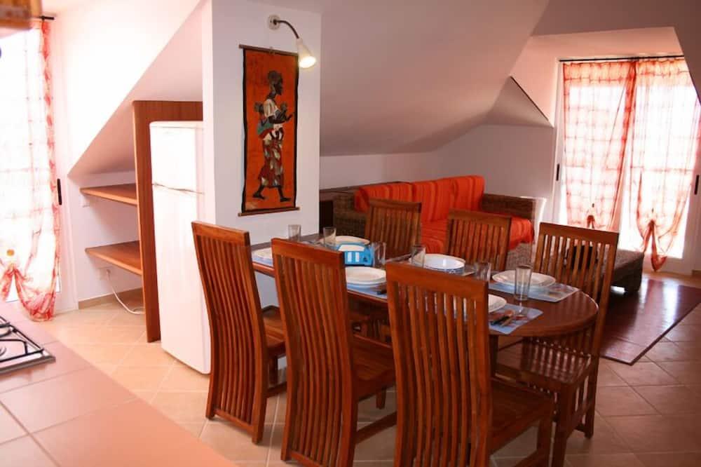 Liukso klasės apartamentai, 1 miegamasis (Casa Bahia 5) - Vakarienės kambaryje