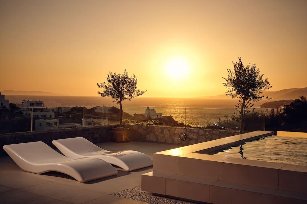 Villa, vista al mar (Ecstasy) - Piscina privada
