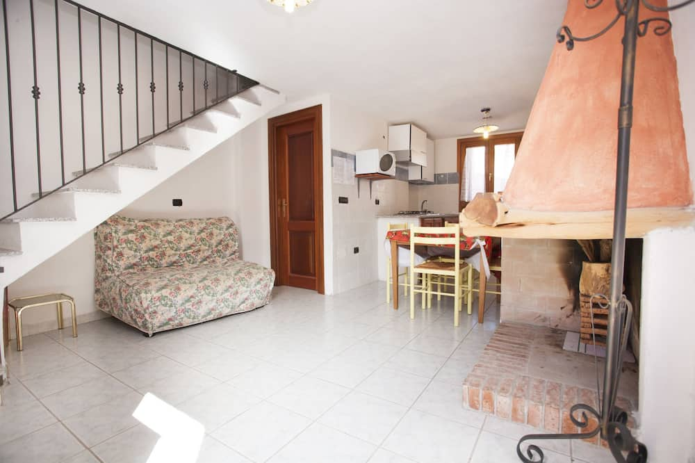 อพาร์ทเมนท์, 2 ห้องนอน (4 people) - พื้นที่นั่งเล่น