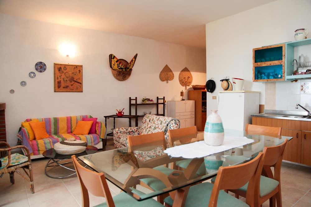 Komforta dzīvokļnumurs (up to 4 people) - Dzīvojamā zona