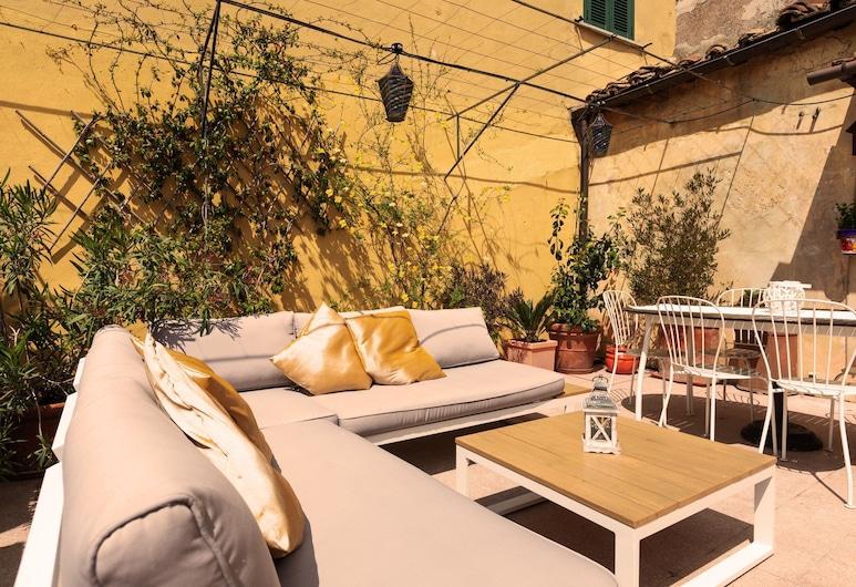 特雷維女王酒店, 羅馬, 公寓, 2 間臥室, 露台 (Vacanze Romane), 陽台