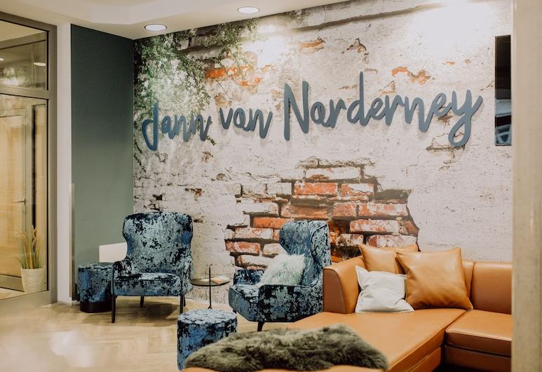 Hotel Jann von Norderney, Norderney, Sitzecke in der Lobby