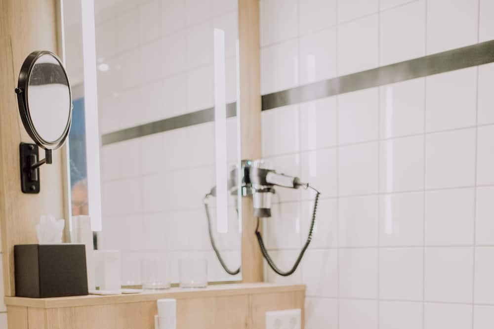 Quarto Duplo - Comodidades da Casa de Banho