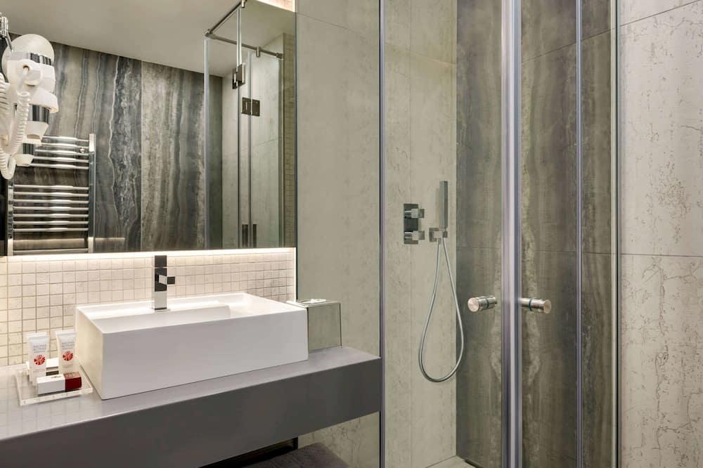 Værelse - 1 queensize-seng - ikke-ryger - Badeværelse