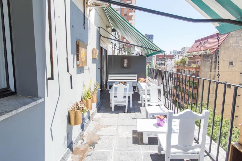 Premium-lejlighed - flere senge - ikke-ryger - Altan