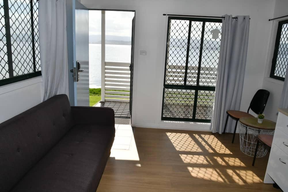 Lakeside Cabin - Living Area