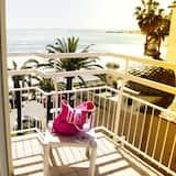 Classic dvokrevetna soba, djelomičan pogled na more - Balkon