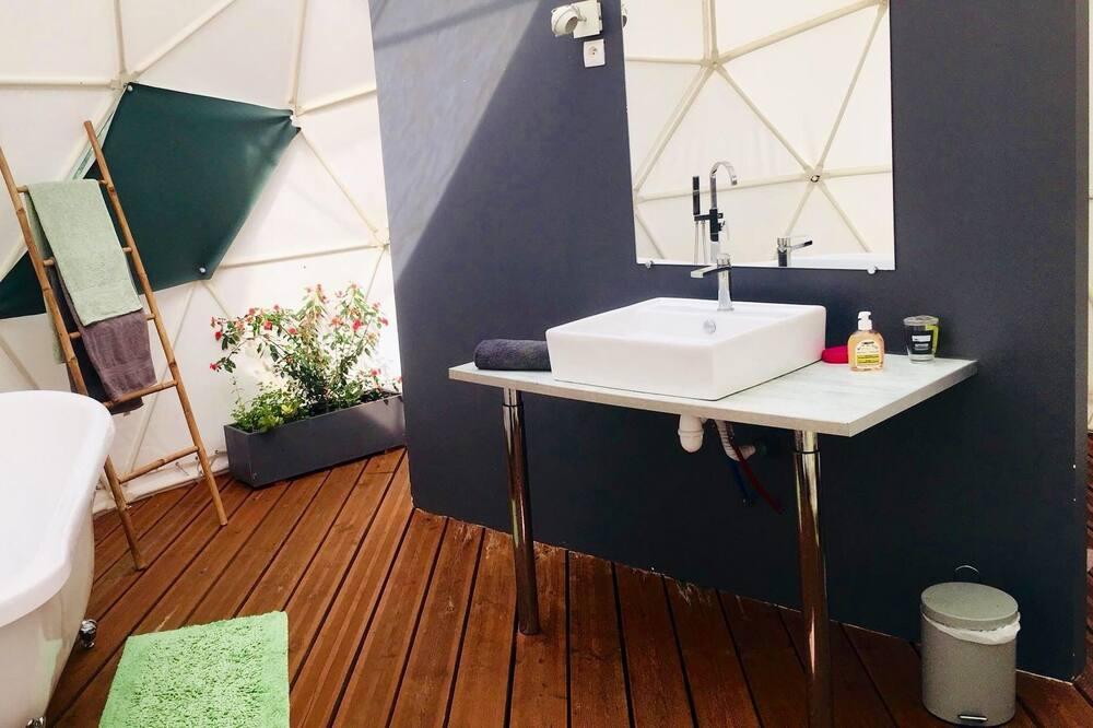 Sviitti, 1 parisänky ja vuodesohva (CASSIOPEE) - Kylpyhuone