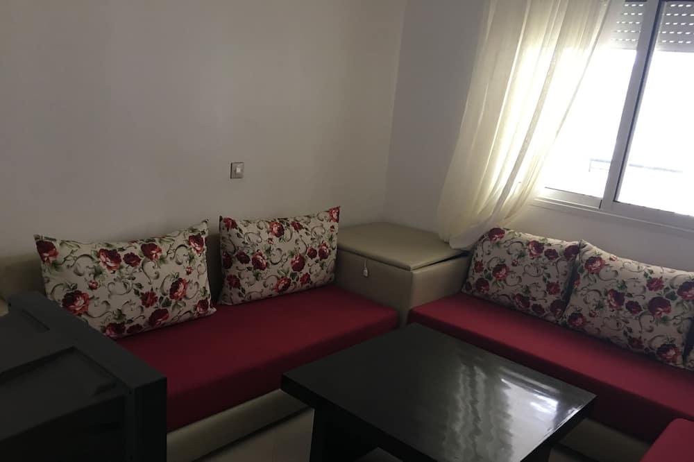 Διαμέρισμα, 2 Υπνοδωμάτια, Θέα στον Κήπο - Περιοχή καθιστικού