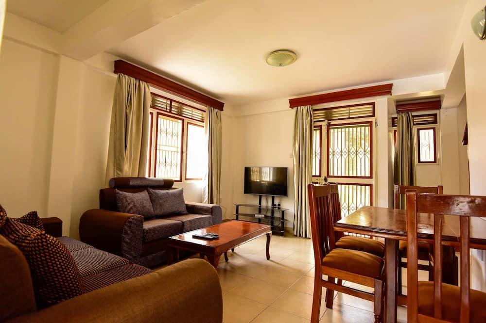 Departamento estándar, 2 habitaciones, para no fumadores - Sala de estar