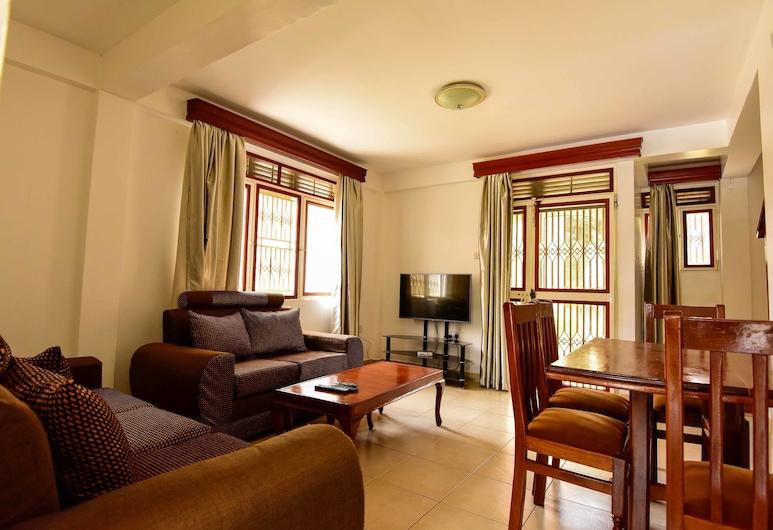 Corinya Serviced Apartments, Entebbe, Standaard appartement, 2 slaapkamers, niet-roken, Woonruimte